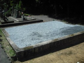 墓じまい様の施工事例